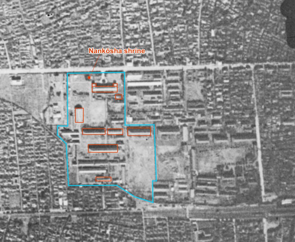 Aerial photo: Nov 7, 1944
