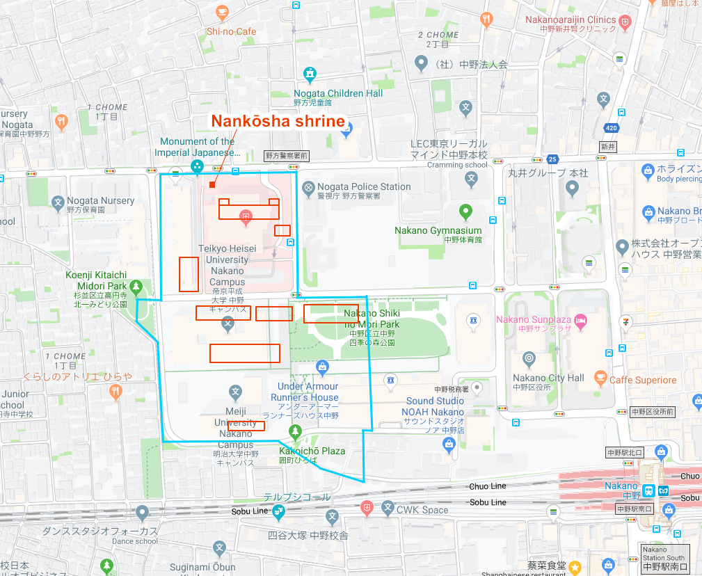 Google Maps: Dec 25, 2019