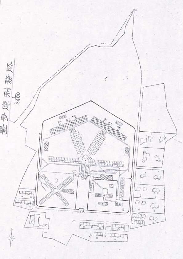 1923 Plan for Toyotama Prison