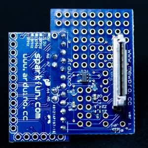 MewPro w/ Arduino Pro Mini soldered