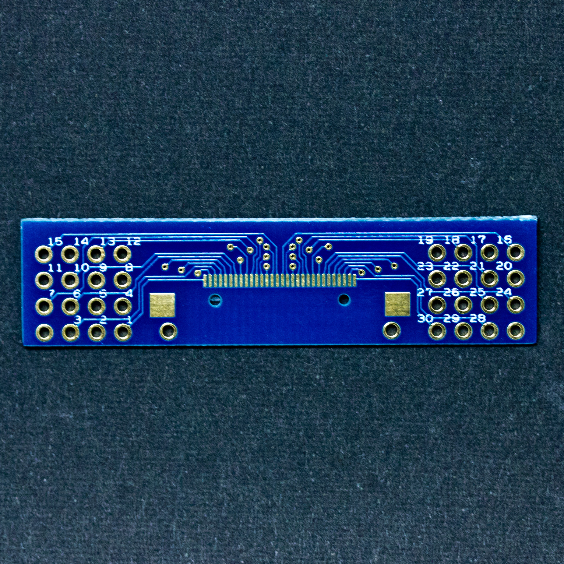 30pin Receptacle Breakout Board Orangkucing Lab
